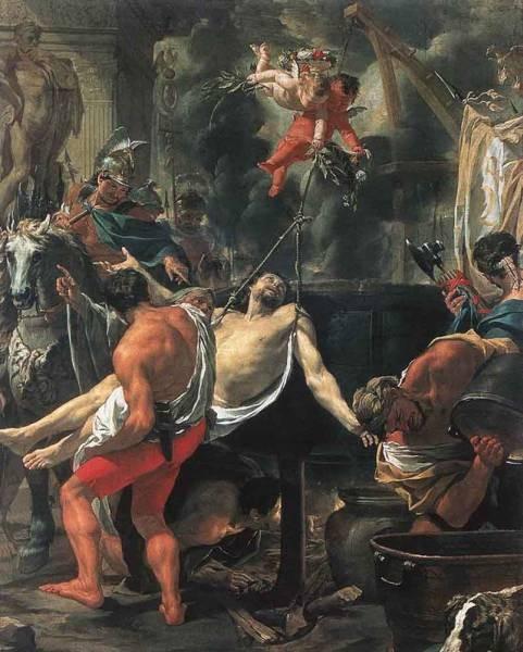 Martyrdom Of St John The Evangelist At Porta Latina